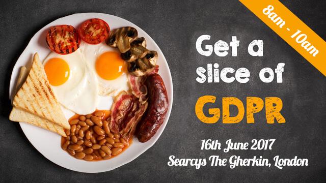 GDPR -breakfast - iomart