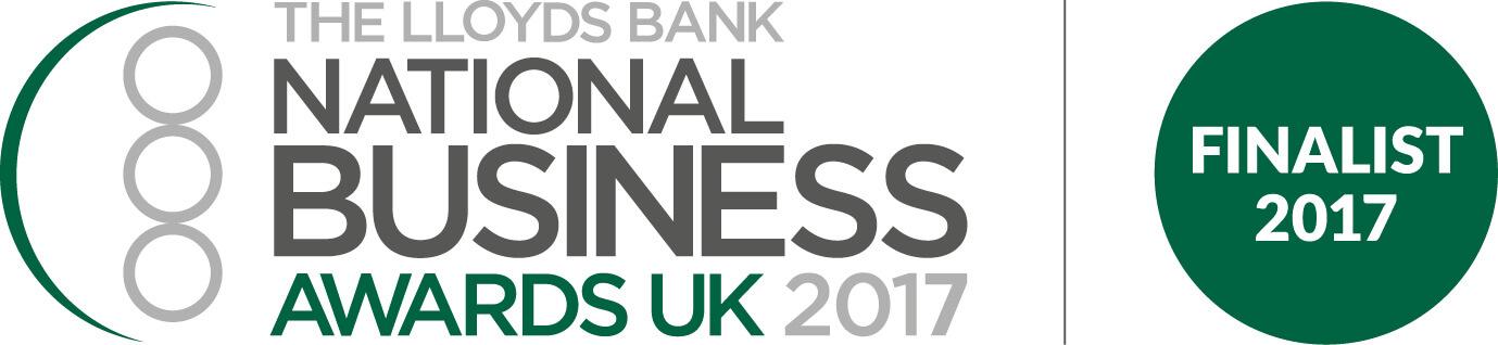 National Business Awards finalist logo - iomart