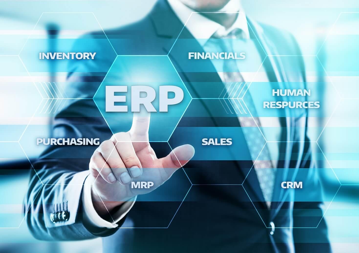 Enterprise Resource Planning ERP software image