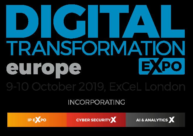 Digital Transformation Expo Europe 2019 logo